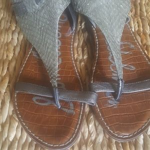 Sam Edelman grey sandals Sz11